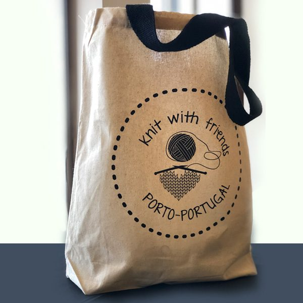 Totebag - Knit with Friends